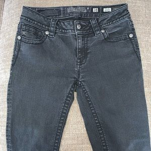 EUC Miss Me Cropped Skinny Mid Rise Jeans Size 28.